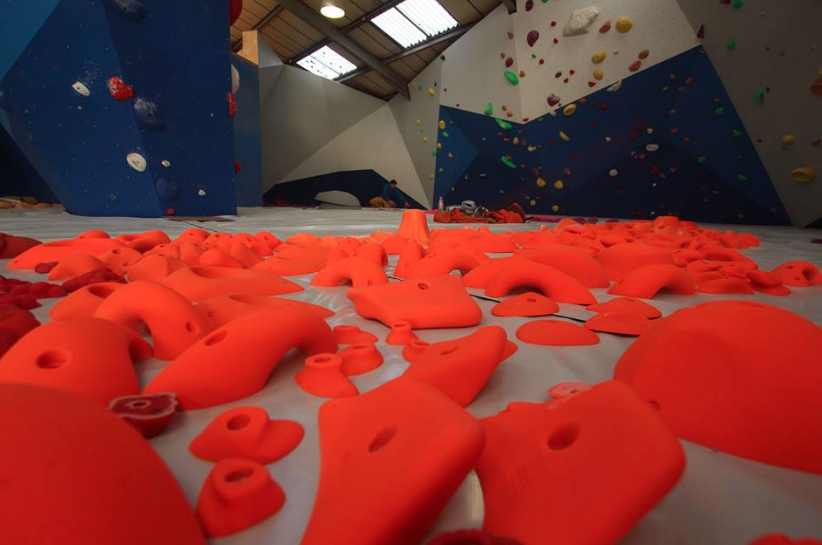 Route Setting at Colchester Climbing Project